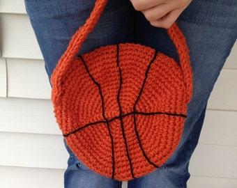 Basketball Purse / Crocheted Purse