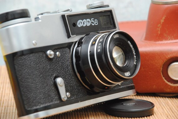 Fed b russische sowjetische leica rf mm udssr kamera etsy
