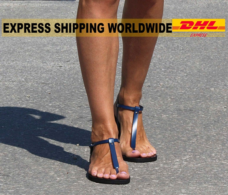 0dafd3e2ef326 SENSATION leather thong sandals simple sexy sandals  T-strap
