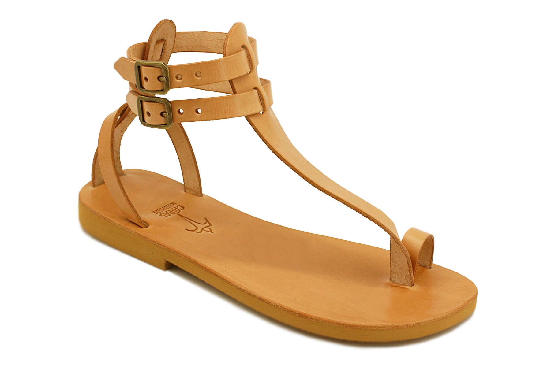 M.V. - gladiator thong sandals/ handmade leather t-strap shoes/ roman greek style/ t-strap leather ankle strap sandals with toe ring/large sizes 779b98