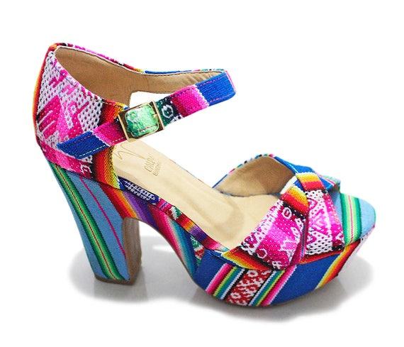 Platform Heels Wedge Sandals Unique