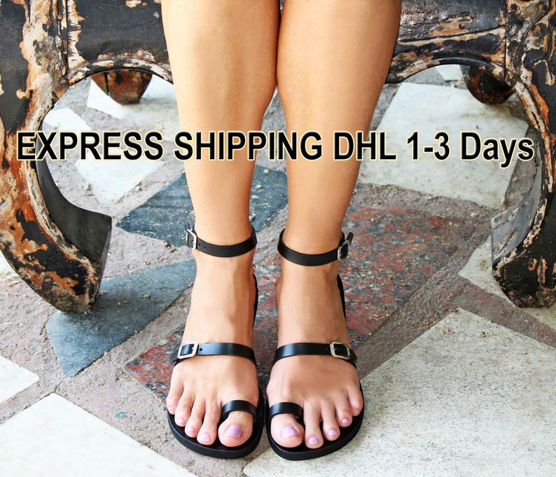 03f56dbb11711c BREEZE Strappy sandals  leather sandals  ancient Greek
