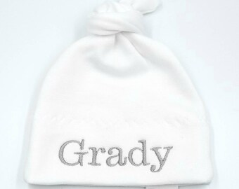 personalized baby hat   baby hats   knit hat   monogram hat  newborn hat    baby girl   baby boy   baby shower   baby gift 0c9b680bbbc0