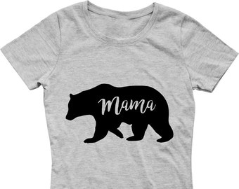 Mama Bear Papa Bear Baby Bear SVG EPS PNG jpg File Digital Download Cut File