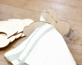Bunny Napkin Rings | Easter Table Setting | Easter Decor | Farmhouse Easter