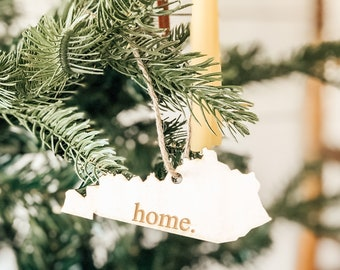 Kentucky Home Ornament | Christmas Ornament | Kentucky State | State Ornament
