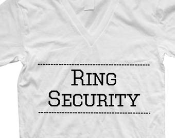 Ring Security Shirt PNG Cut File Digital Download Ring Security Shirt Decal