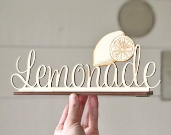 Lemonade Sign | Wedding Sign | Wedding Drink Sign | Drink Signs | Lemonade