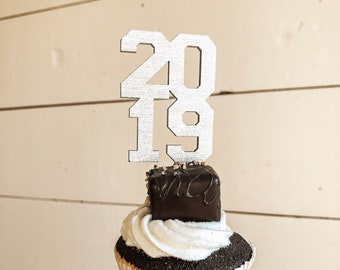 2019 Cupcake Toppers | Graduation Cupcake Topper | Graduation Party | 2019 Graduation