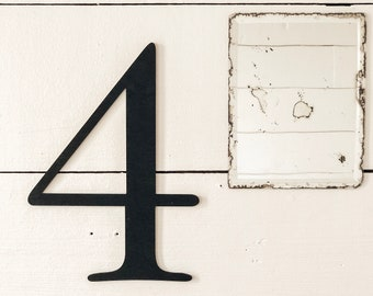 Number Sign | Farmhouse Wall Sign | You Pick Number Sign | Farmhouse Decor