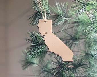 California Ornament | Christmas Ornament | California State | State Ornament