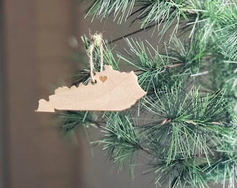 Kentucky Ornament | Christmas Ornament | Kentucky State | State Ornament