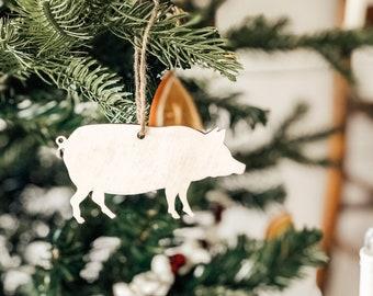 Pig Ornament | Pig Cutout | Pig Gift | Pig