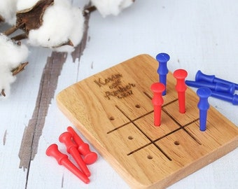 Tic Tac Toe Wedding Game | Custom Wedding Game | Rustic Wedding Games | Game Table | 3 In A Row Game | Wedding Games