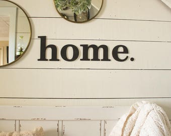 home Sign | Gallery Wall Sign | Farmhouse Gallery Wall | Farmhouse Foyer Sign