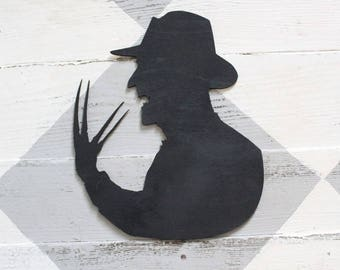 Freddy Kruger Silhouette Cutout