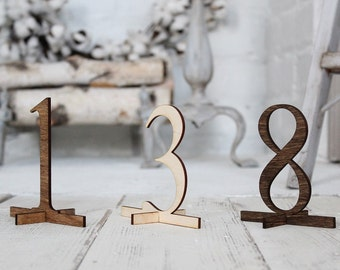 Rustic Table Numbers Wedding Table Numbers Freestanding Table Numbers Rustic Wedding #downintheboondocks