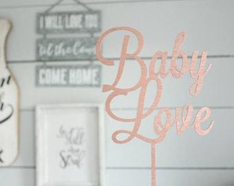 Baby Love Cake Topper