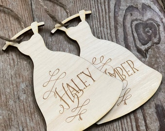 Bridesmaid Dress Hanger Tag | Hanger Tag