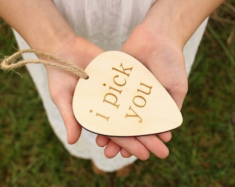 i pick you Guitar Pick Ornament | Free Shipping
