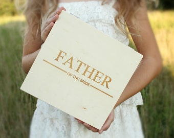Father Of The Bride Gift | Groomsmen Gift | Cigar Box | Custom Engraved Box | Gift Box