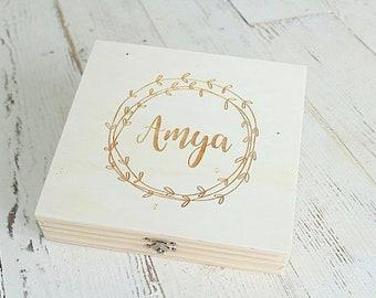 Bridesmaid Keepsake Box | Wedding Keepsake Box | Crayon Box | Keepsake Box | Photo Box | Love Letter Box
