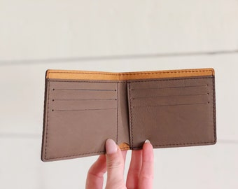 9 Leather Wallet Blank | Laser Blanks | Groomsmen Gifts | Fathers Day Gift | Bifold Wallet