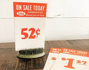 Vintage General Store Signs | Vintage Sale Signs | Farmhouse Decor
