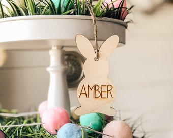 Easter Gift Basket Tag | Easter Bunny Gift Tag | Easter Gift Tag | Easter Gift Basket