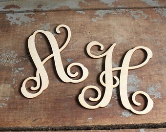 Cake Letters Wreath Letters Wood Letters