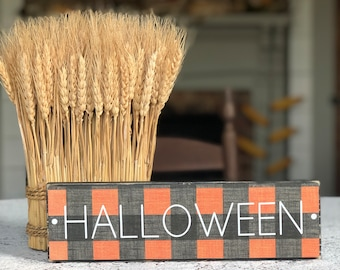 Halloween Sign | Farmhouse Halloween | Halloween Decor