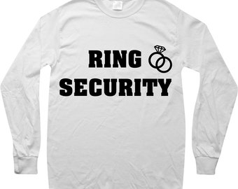 Ring Security PNG File | Digital Download | Ring Bearer Shirt Decal
