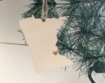 Minnesota Ornament | Christmas Ornament | Minnesota State | State Ornament