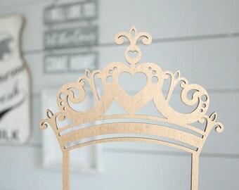 Princess Crown Cake Topper