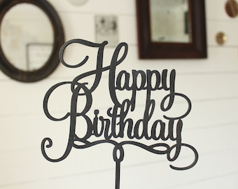 Happy Birthday Cake Topper | Free Shipping