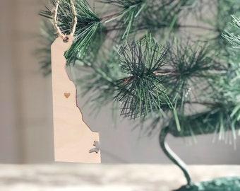 Delaware Ornament | Christmas Ornament | Delaware State | State Ornament