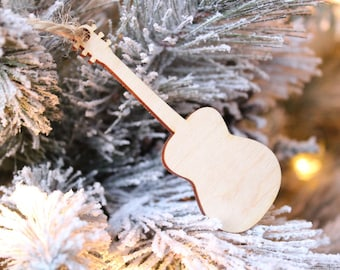 Guitar Ornament | Musician Gift | Christmas Ornament