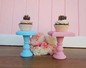 Cupcake Stand | Mini Dessert Stand | Cupcake Holder | Dessert Buffet Decor | Wedding Candy Table Decor Mini Cake Stand Down In The Boondocks