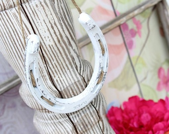 Rustic White Wedding Horseshoe Nursery Decor Horseshoe Decor Rustic Chic Wedding Lucky Horseshoe Barn Wedding Decor Country Wedding Decor