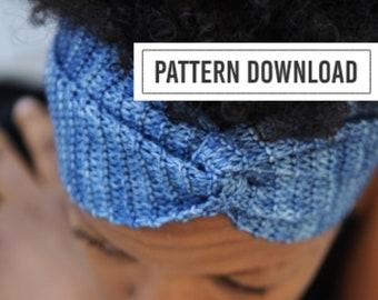 KNITTING PATTERN: Yoga Gifts, Headband, Yoga Headband, Headband Pattern, Headband PDF, Headband pdf pattern, Ear Warmer Pattern