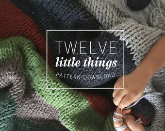 KNITTING PATTERN: Blanket Pattern, Blankets and Throws, Chunky Knit Blanket, Chunky Knit Throw, Chunky Blanket Pattern, Knit Blanket Pattern
