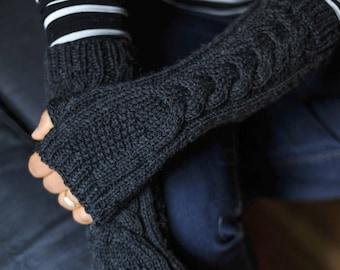 Fingerless Gloves, Fingerless, Fingerless Mittens, Fingerless Mitts, Knit Gloves, Elbow Length Gloves, Texting Gloves, Knit Mittens, Mittens