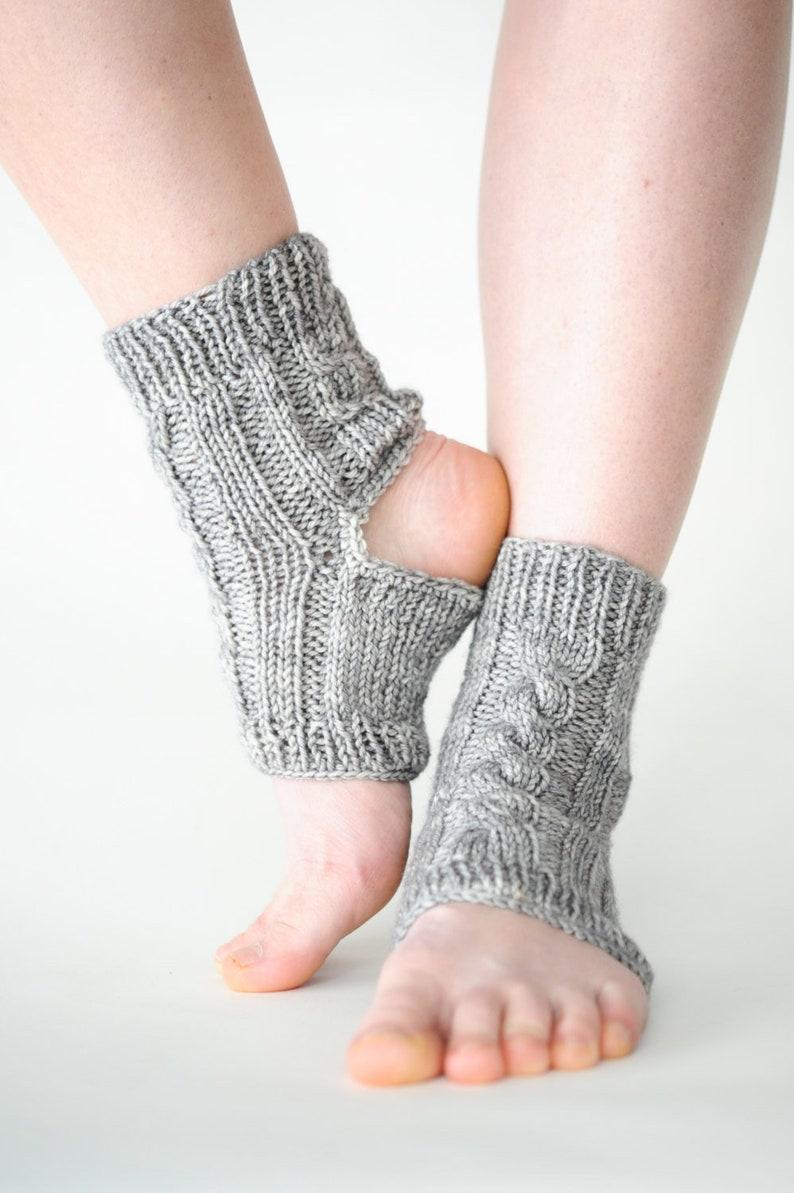 Yoga Socks Ankle Socks Knit Yoga Socks Pedicure Socks Knit image 0