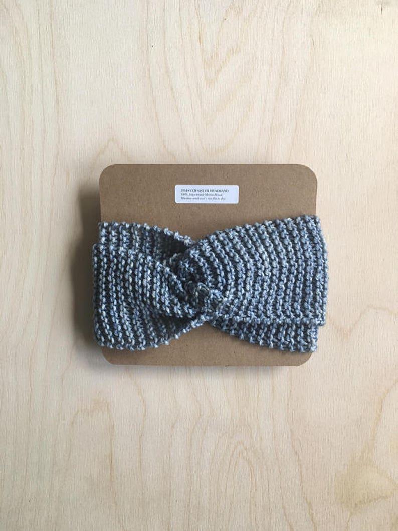 Headband  Yoga Headband  Knit Headband  Girls Headbands  image 0