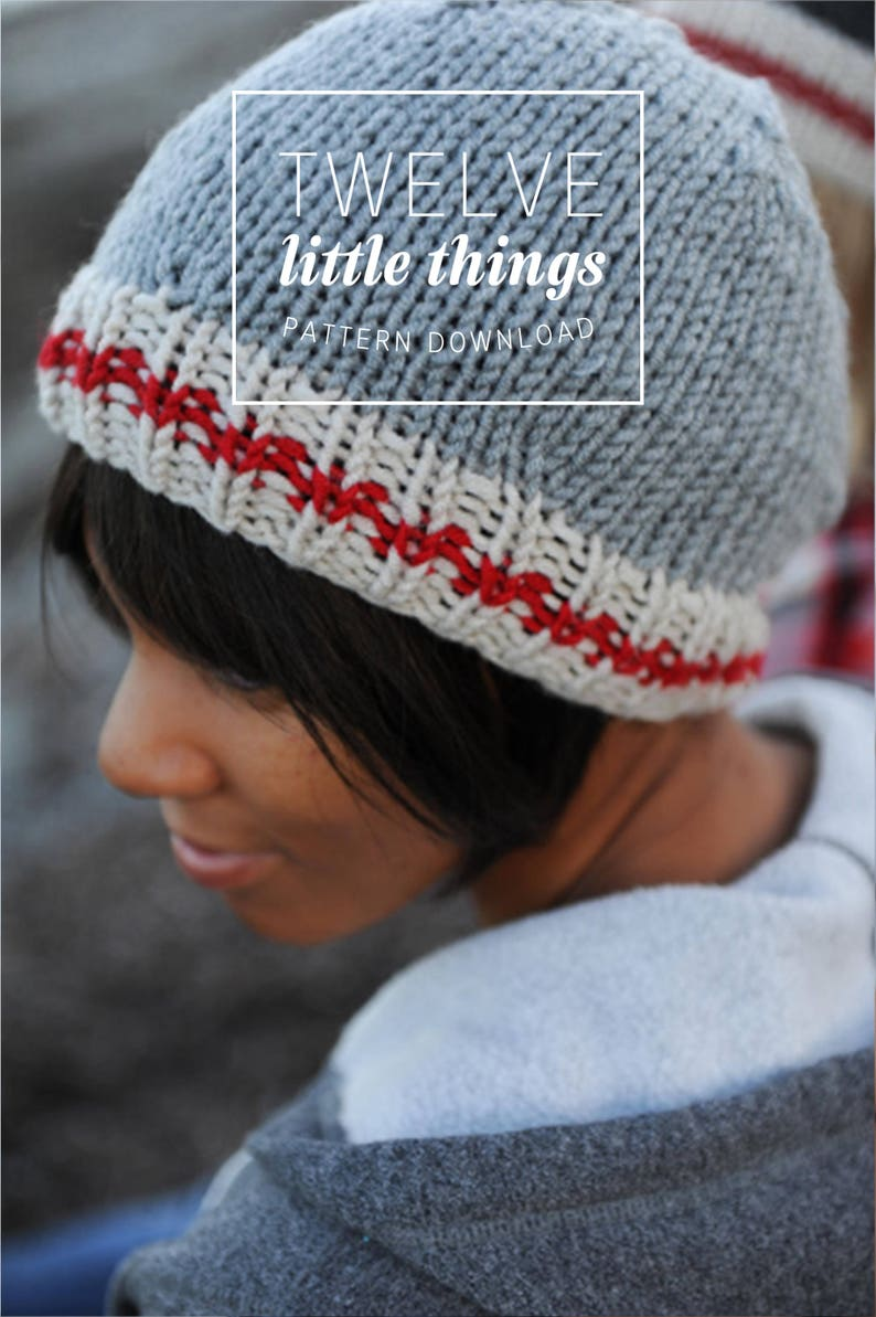 KNITTING PATTERN: Work Sock Hat Sock Monkey Hat Hat Pattern image 0