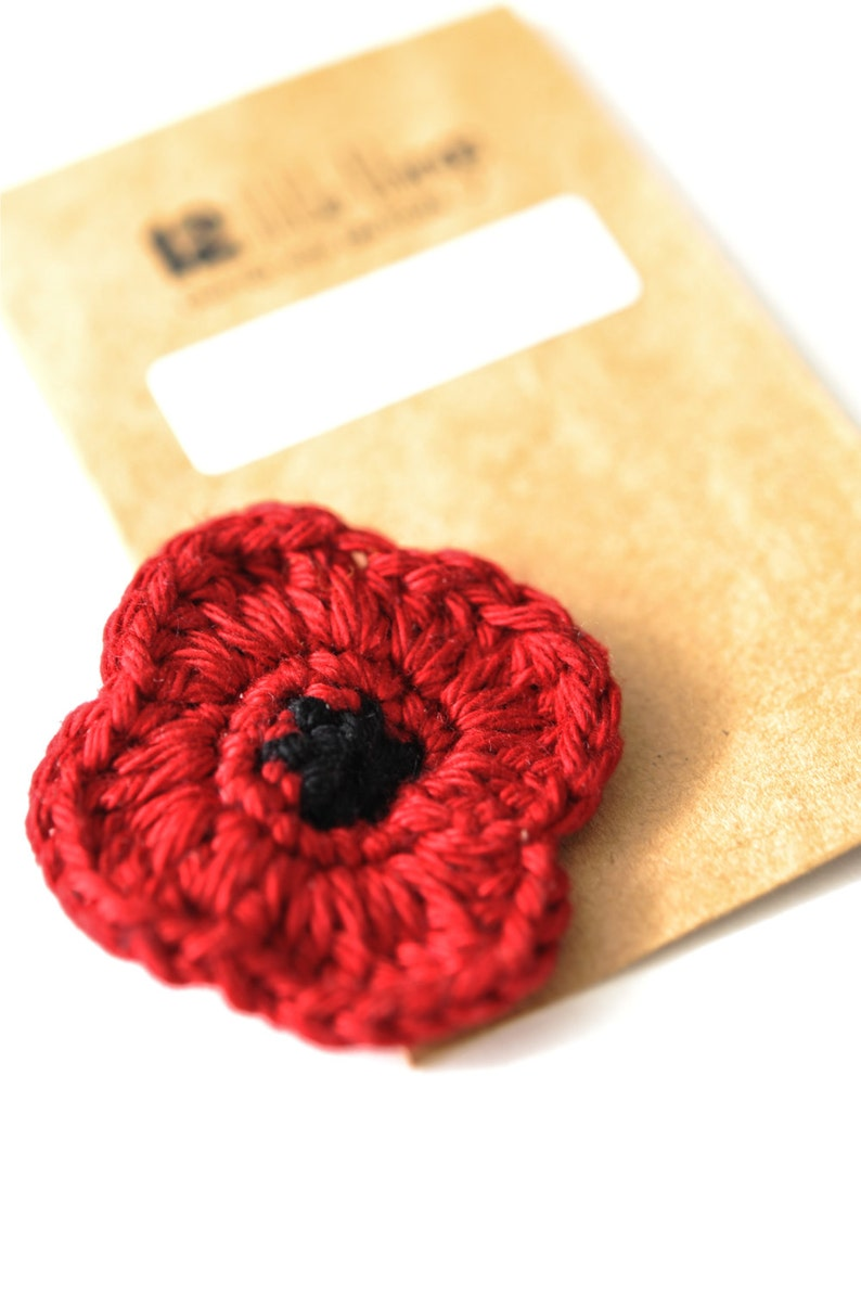 P O P P Y // Remembrance Day // Veterans Day // Red Poppy // image 0