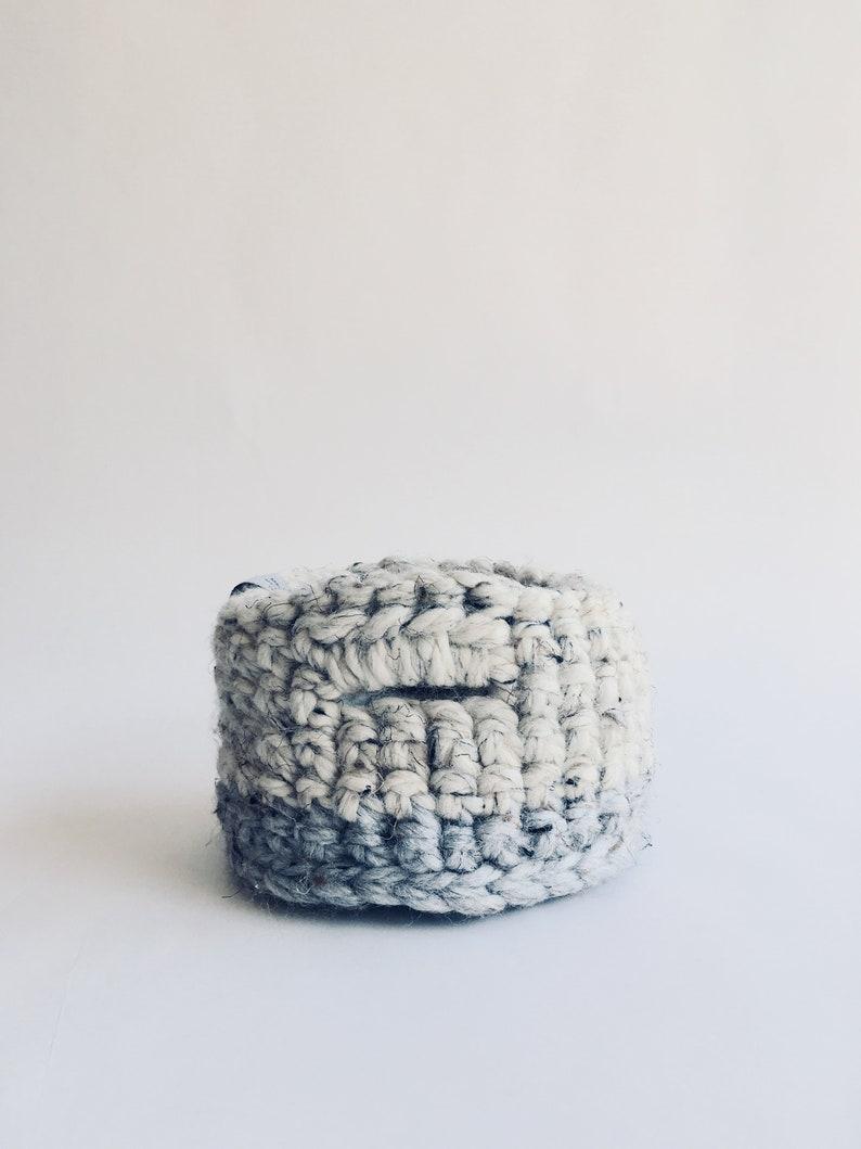 STORAGE BASKET: Mini Basket Brush HolderPen HolderHome image 0