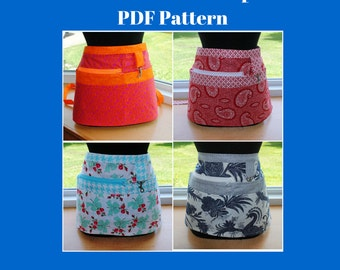 PDF Pattern Vendor Apron Sewing Tutorial