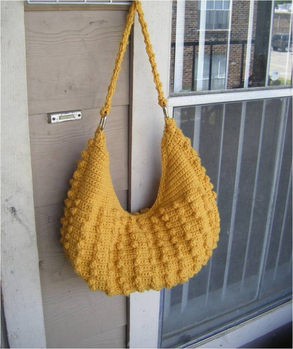 Instant Download Natalia Hobo Crochet Tote Bag Pattern Etsy
