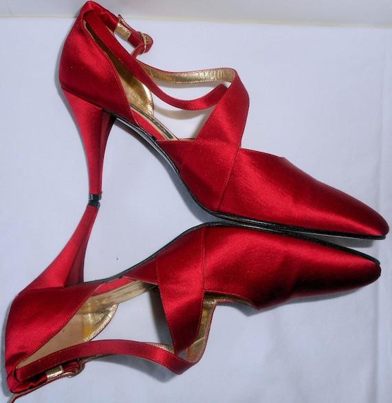 ESCADA Vintage 1990s Shoes Pumps Heels 6.5 36.5 L… - image 1
